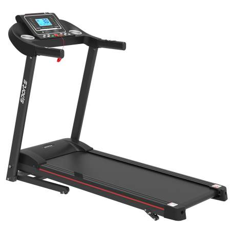 """Folding Treadmill, Smart Motorized Treadmill With Manual Incline And Air Spring & Mp3, Exercise Running Machine With 5\"""" Lcd Display For Home Use"""