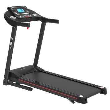 "Folding Treadmill, Smart Motorized Treadmill With Manual Incline And Air Spring & Mp3, Exercise Running Machine With 5"" Lcd Display For Home Use"
