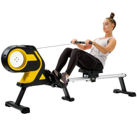 """Magnetic Rowing Machine with LCD Monitor, 46\\\\\\\\\\\\\\\\\\\\\\\\\\\\\\\\\\\\\\\\\\\\\\\\\\\\\\\\\\\\\\\\\\\\\\\\\\\\\\\\\\\\\\\\\\\\\\\\\\\\\\\\\\\\\\\\\\\\\\\\\\\\\\\"""" Slide Rail, Compact Folding Rower"""