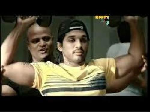 Allu Arjun workout routine and diet plan