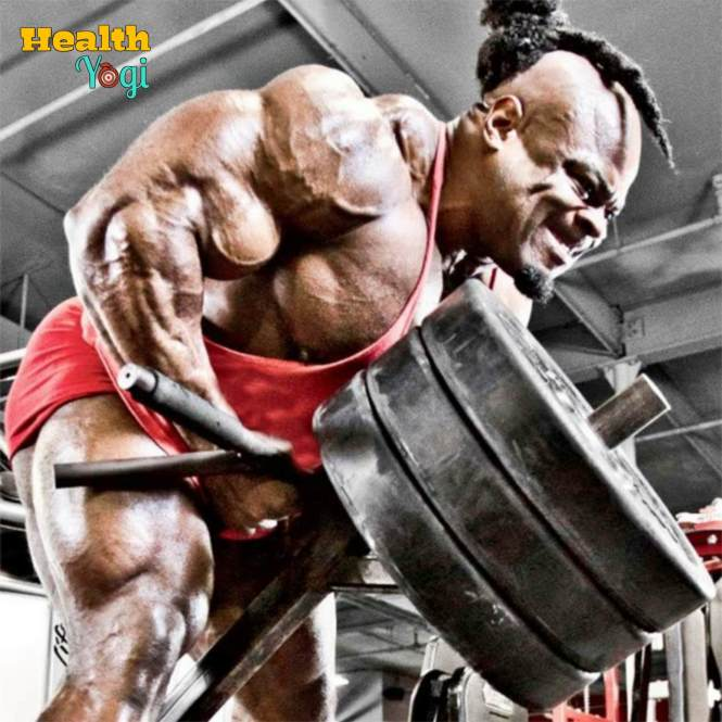 Kai Greene exercsie