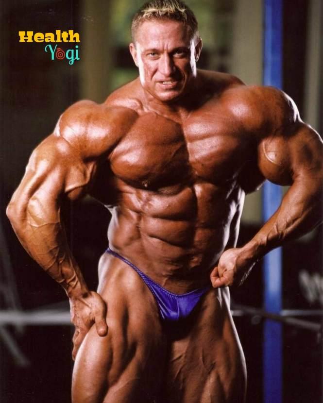 Sergio Oliva fitness regime
