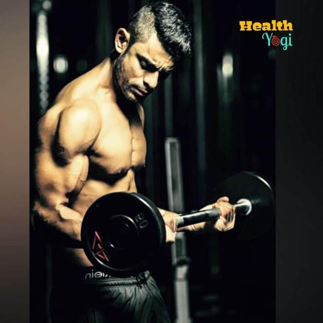 Bishnu Adhikari biceps workout