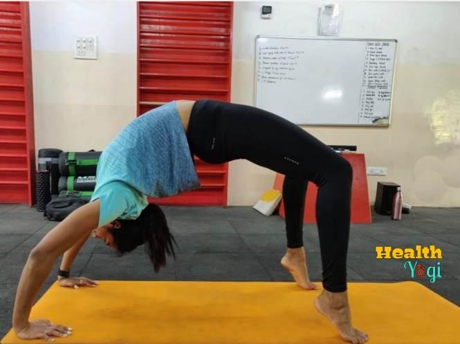 PV Sindhu Doing yoga