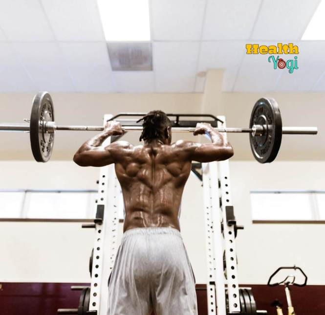 Antonio Brown Back Workout