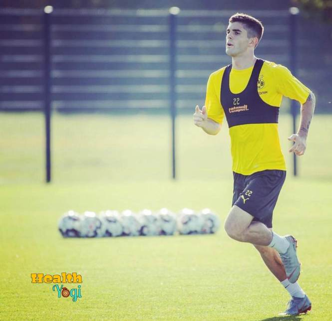 Christian Pulisic Body Measurements