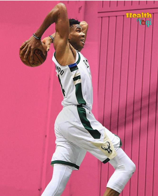 Giannis Antetokounmpo strength