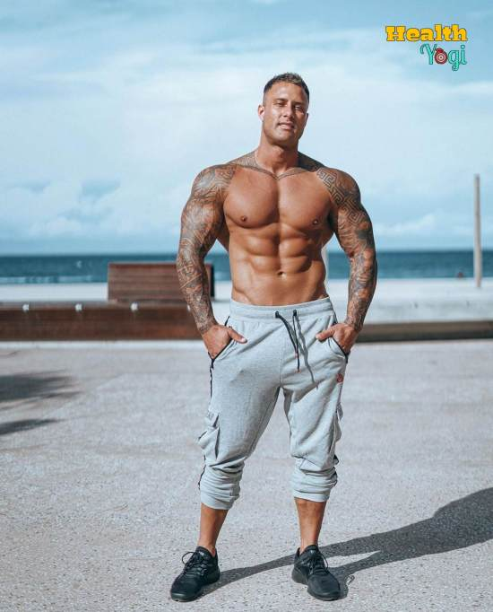 Zac Smith Workout Routine and Diet Plan