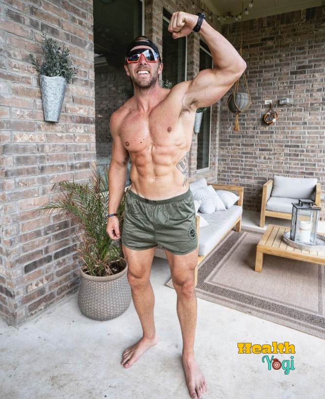 Nick Bare bodybuilding