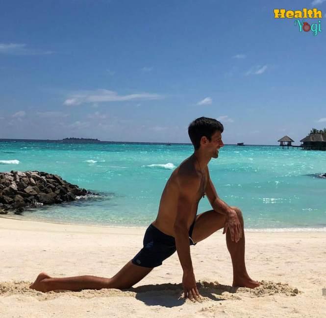 Novak Djokovic exercise
