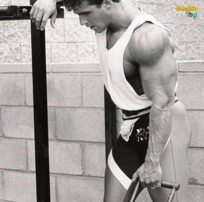 Bob Paris at gym old Photo