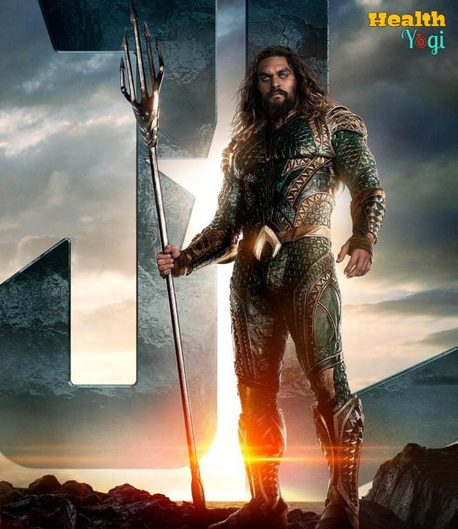 Jason Momoa aquaman body