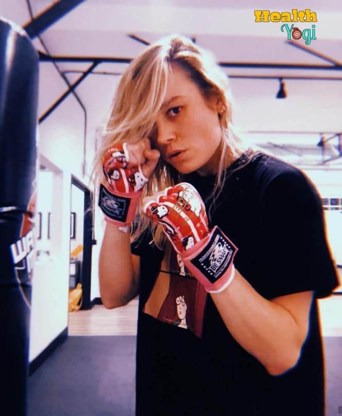 Captain Marvel Brie Larson Workout Routine