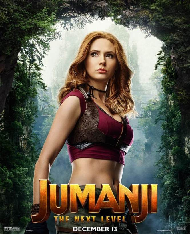 Karen Gillan Jumanji Photo