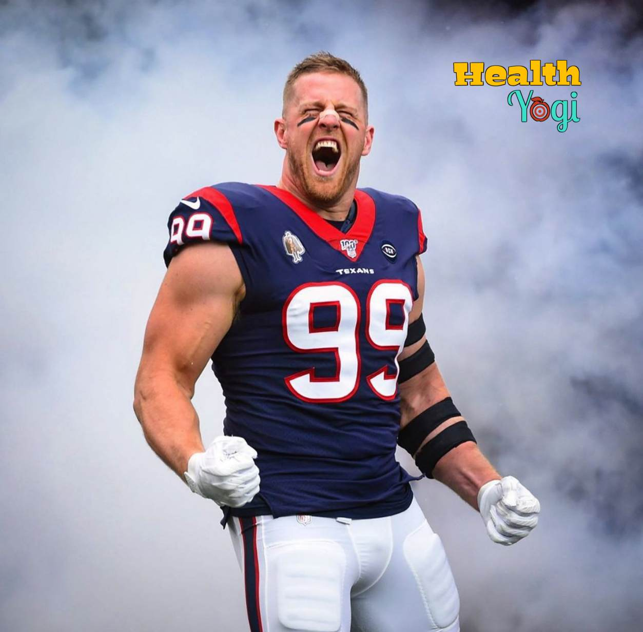 JJ Watt Diet Plan and Workout Routine