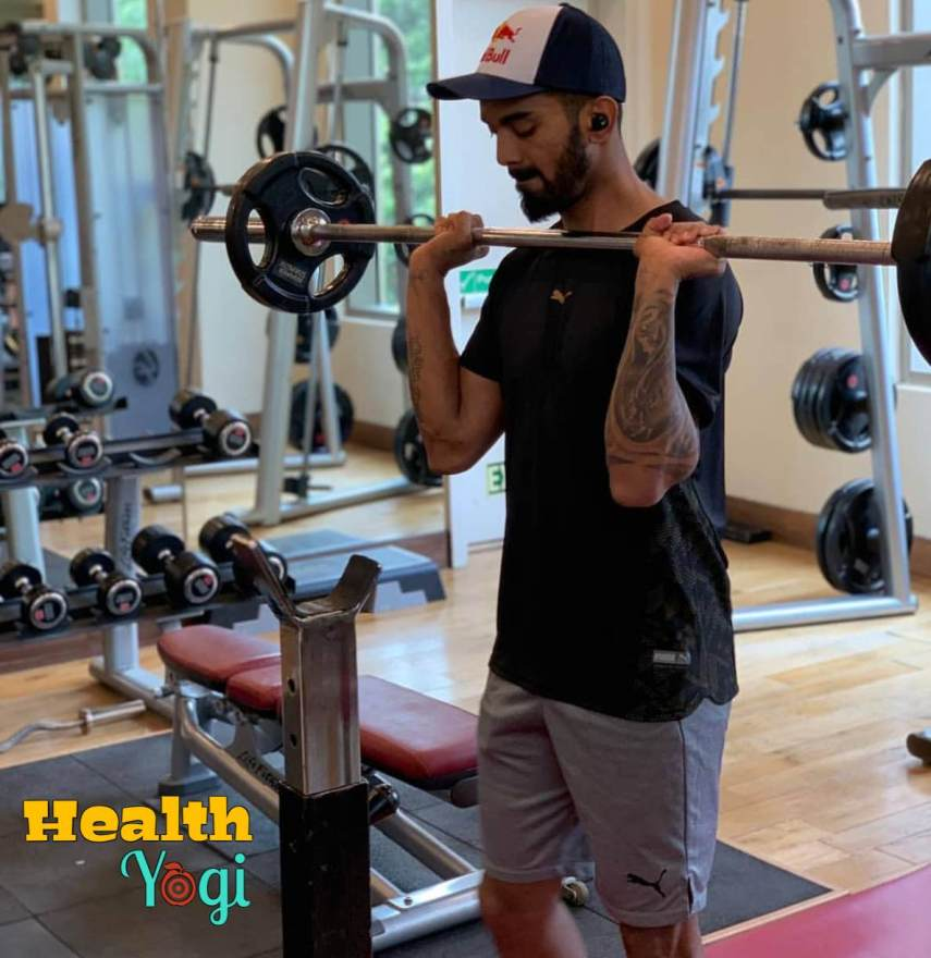 KL Rahul Fitness Training