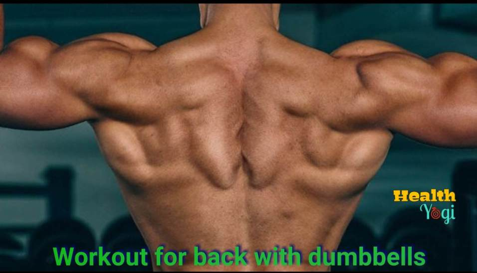 Workout for Back with Dumbbells