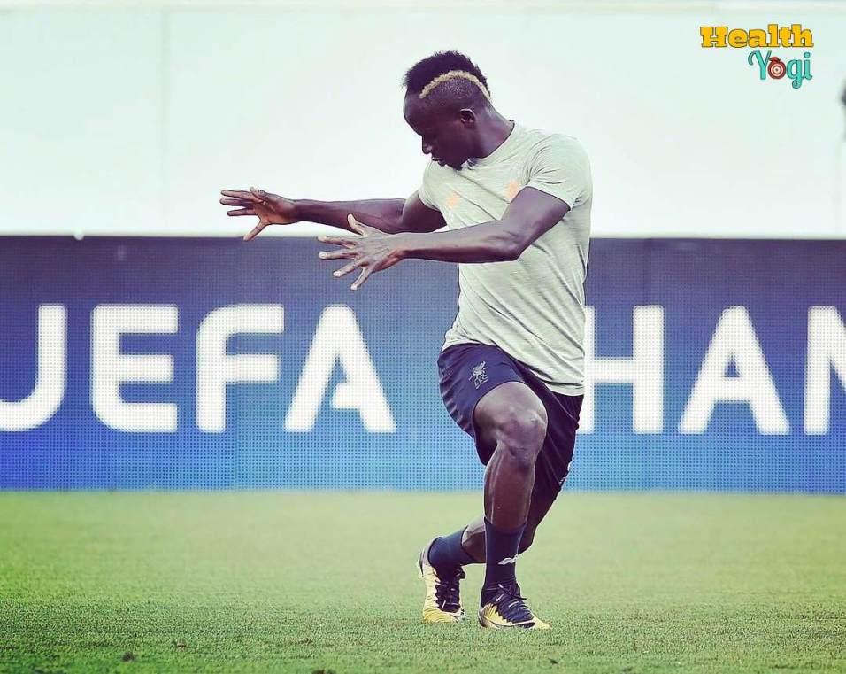 Sadio Mane Workout