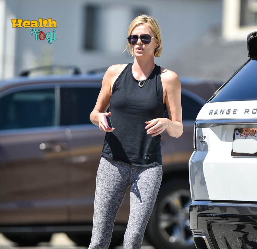 Charlize Theron Workout