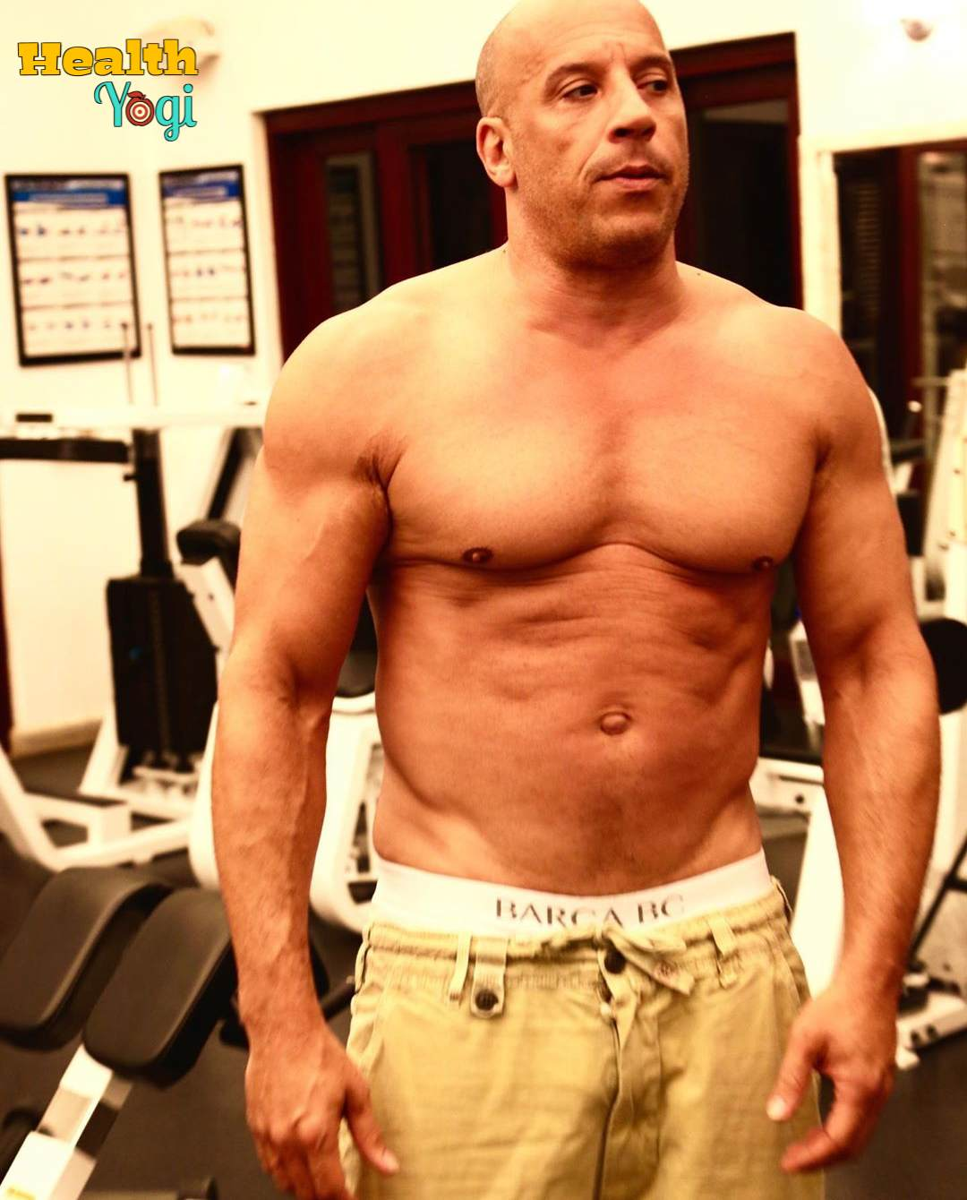 Vin Diesel Workout Routine and Diet Plan
