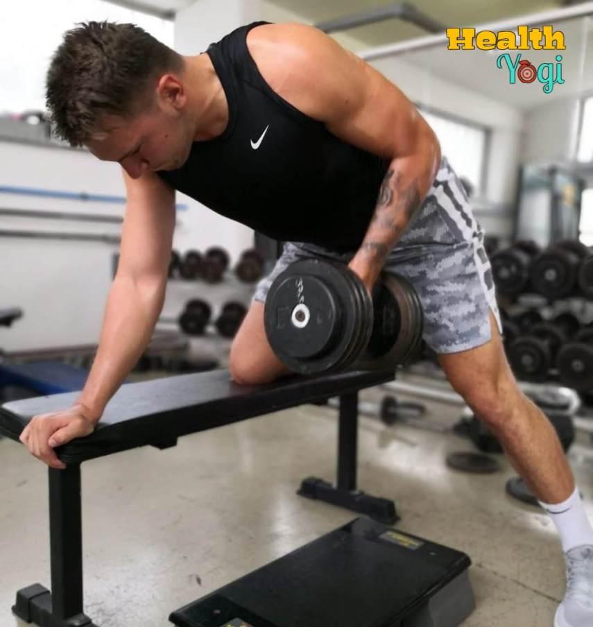 Luka Dončić gym