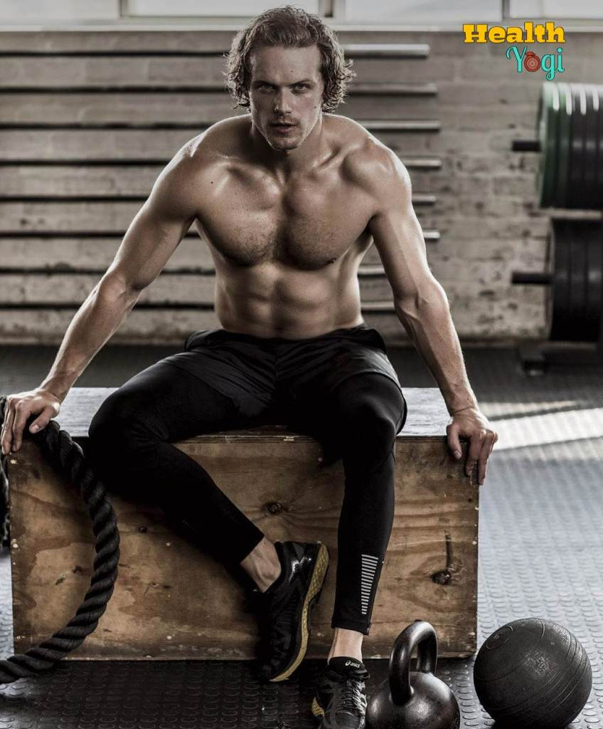 Sam Heughan Workout Routine and Diet Plan