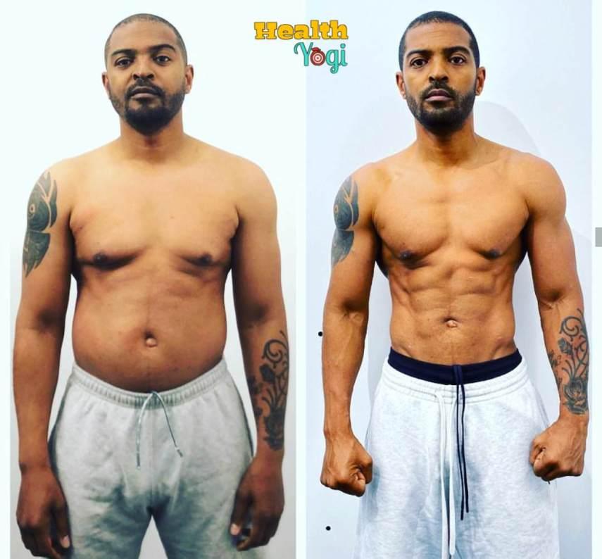 Noel Clarke Body Transformation for Bulletproof 2