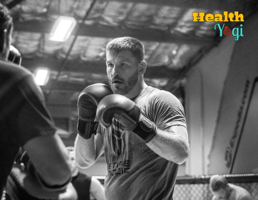Stipe Miocic Workout Boxing Exercise