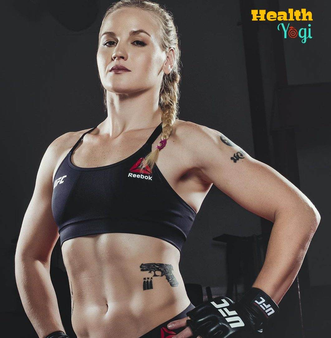 Valentina Shevchenko Workout Routine and Diet Plan