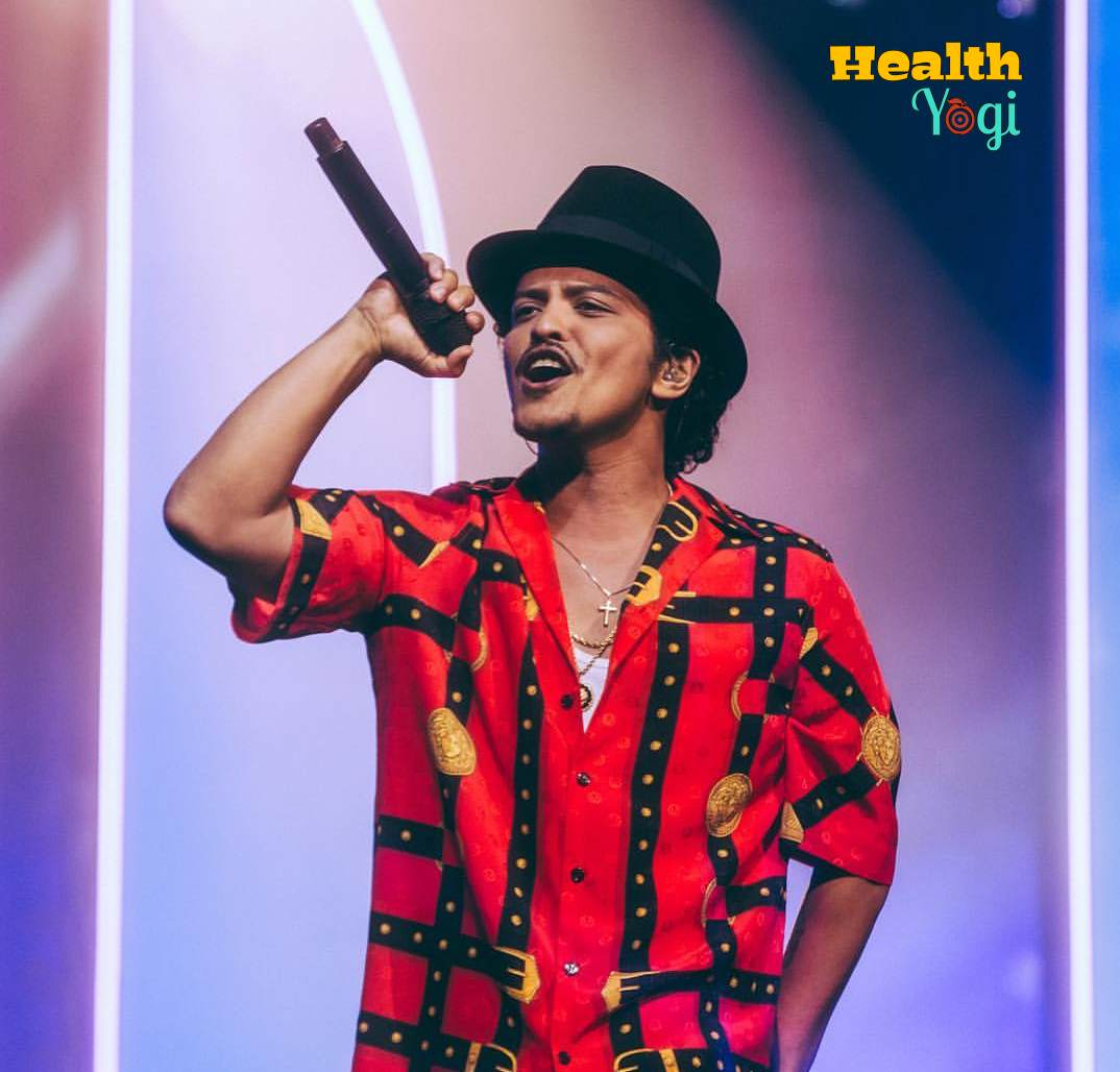 Bruno Mars Workout Routine and Diet Plan