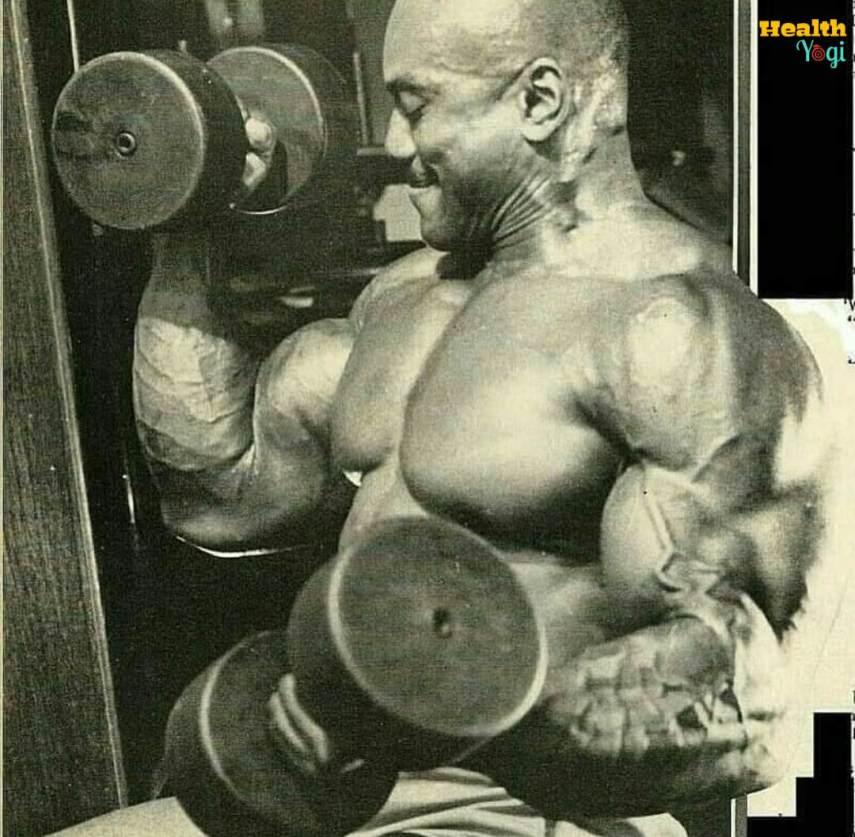 Sergio Oliva Workout Routine