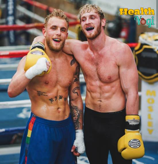 Logan Paul Boxing Training
