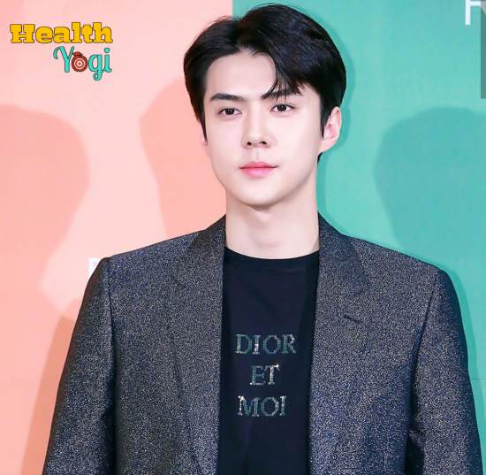 Sehun Workout Routine and Diet Plan