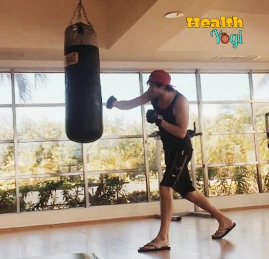 Germán Garmendia boxing