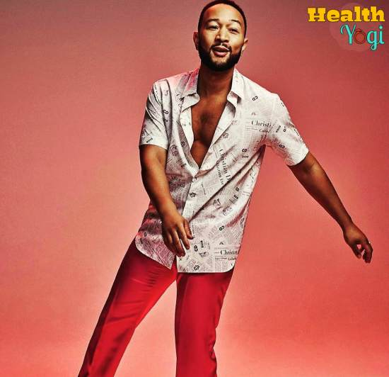 John Legend Workout Routine and Diet Plan