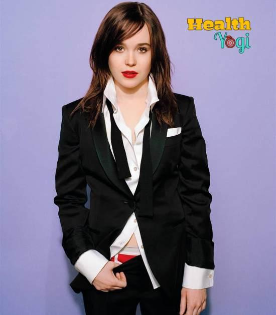 Ellen Page Workout Routine and Diet Plan