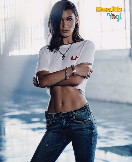 Bella Hadid Workout Routine and Diet Plan