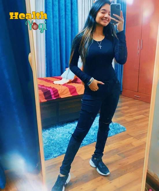 Anushka Sen Workout Routine