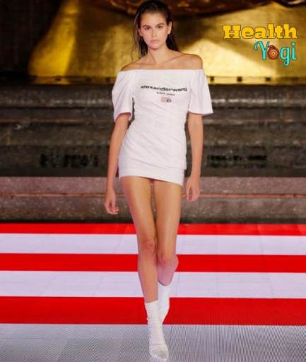 Kaia Gerber Workout Routine and Diet Plan