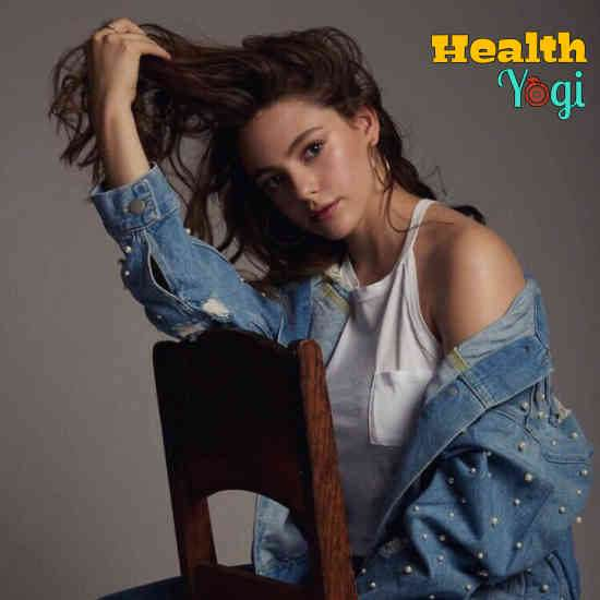 Danielle Rose Russell Diet Plan and Workout Routine