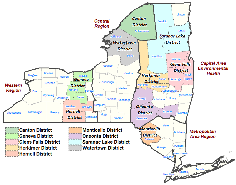 Nyc Map 3 District School