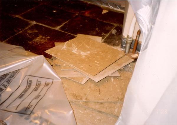asbestos floor tile removal guidance