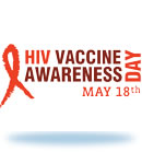 Logo for HIV Vaccine Awareness Day