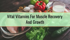 Vital Vitamins For Muscle Recovery And Growth