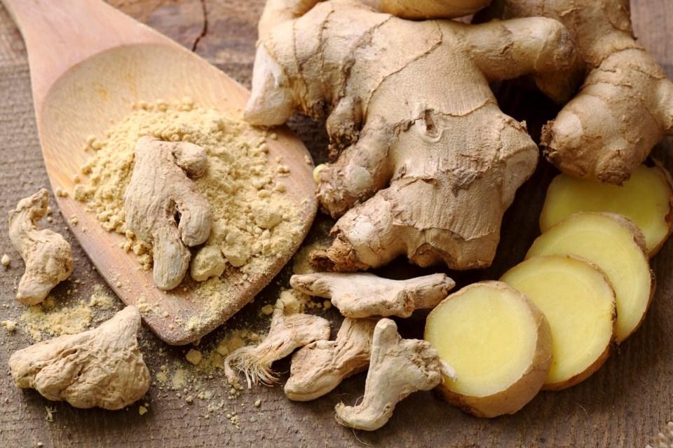 ginger for acne