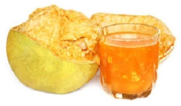 Bael fruit juice to reduce body heat