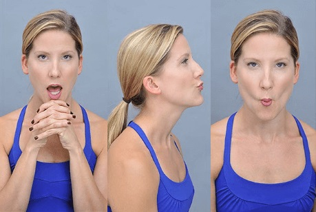 Fish Face Exercise