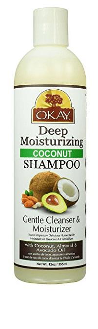 Okay Coconut Oil Deep Moisturizing Shampoo
