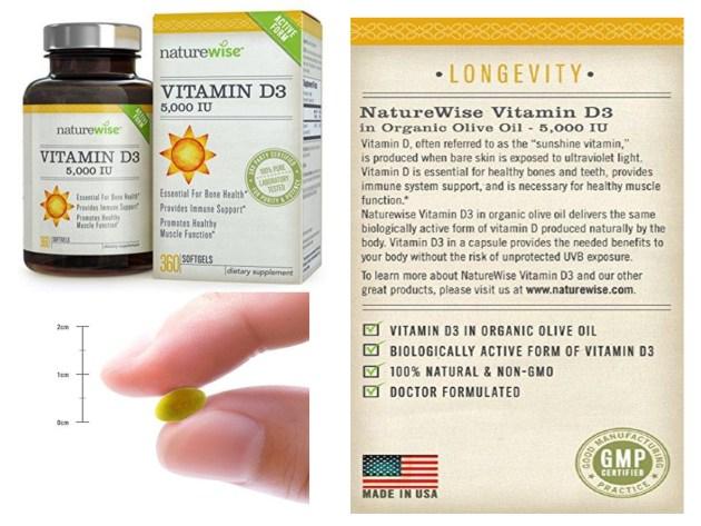 NatureWise Vitamin D3 5,000 IU