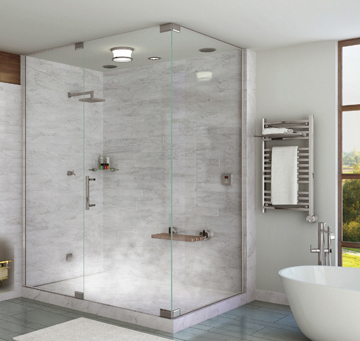 At Home Steam Showers